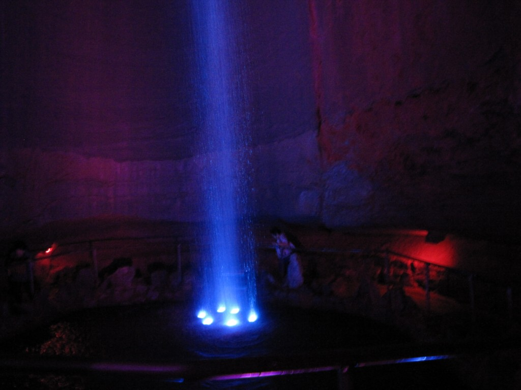 Ruby Falls,Chattanooga, Tennessee