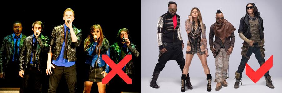 Pentatonix and the Black Eyed Peas