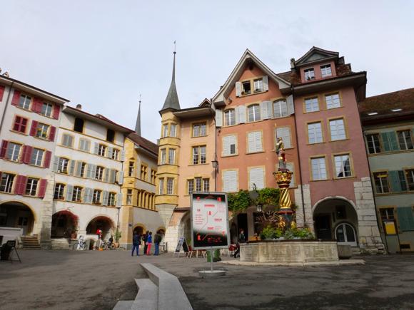 Old Town, Biel/Bienne, Switzerland