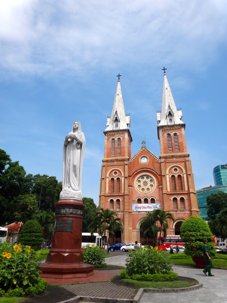 Basilica of Our Lady of Immaculate Conception, Ho Chi Minh, Vietnam