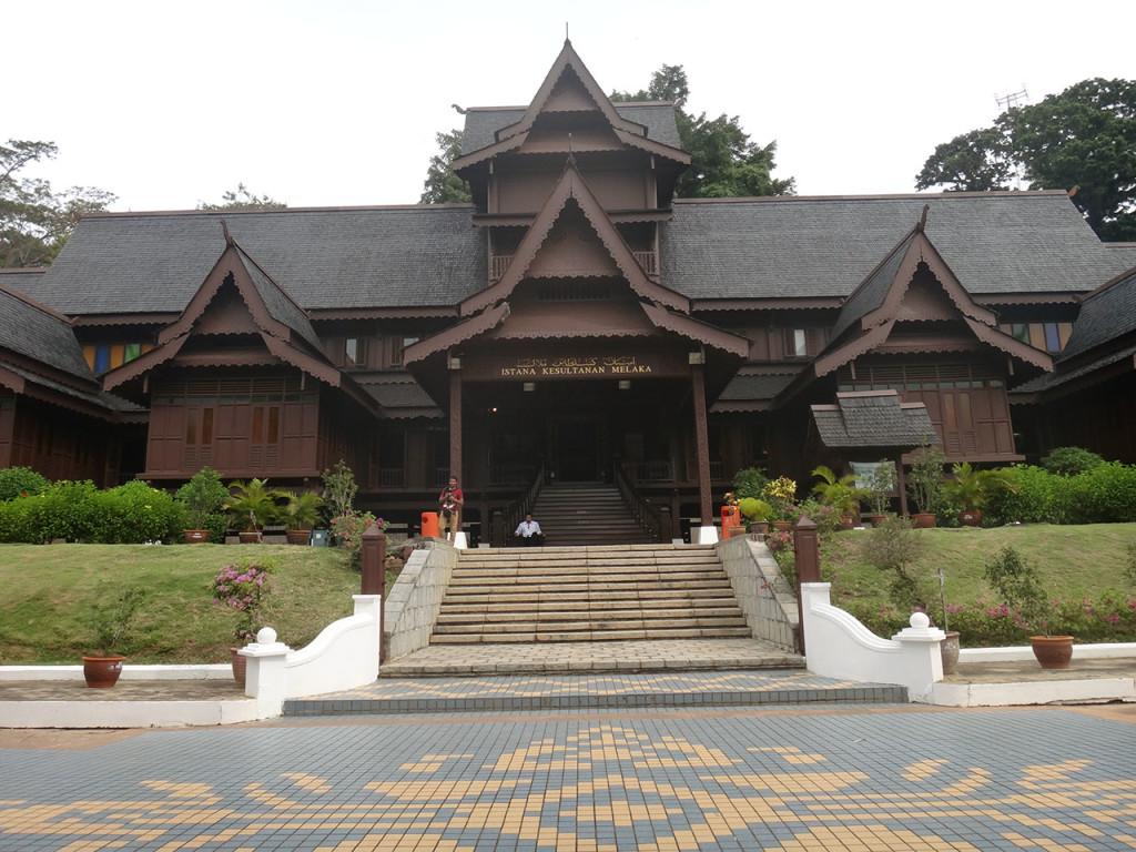 Istana Kesultanan Melaka (Malacca Sultanate Palace Museum), Melaka, Malaysia
