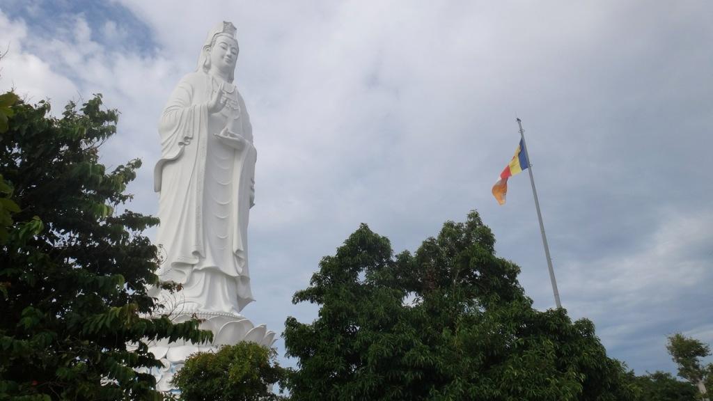 Goddess of Mercy, Linh Ung Pagoda, Danang, Vietnam