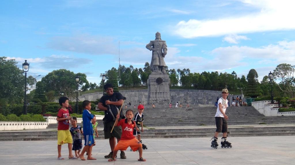 Quang Trung statue, Nui Ban (Ban Mountain), Hue, Vietnam