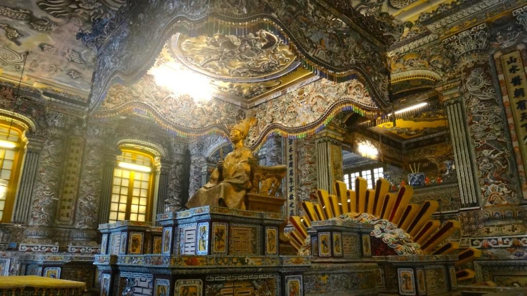 Khai Dinh Tomb, Hue, Vietnam