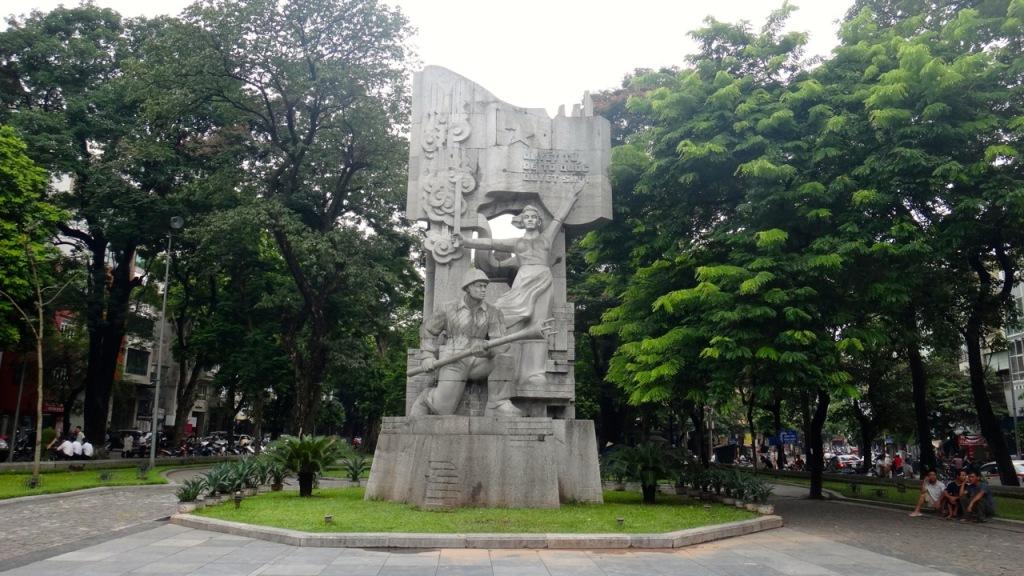 Hang Dau Park, Hanoi, Vietnam