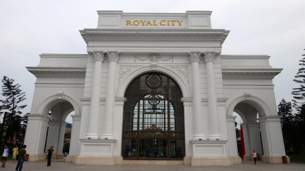 Vincom Mega Mall Royal City, Hanoi, Vietnam