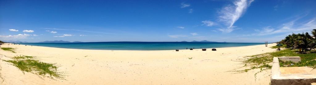 Ha My Beach, Dien Ban, Vietnam