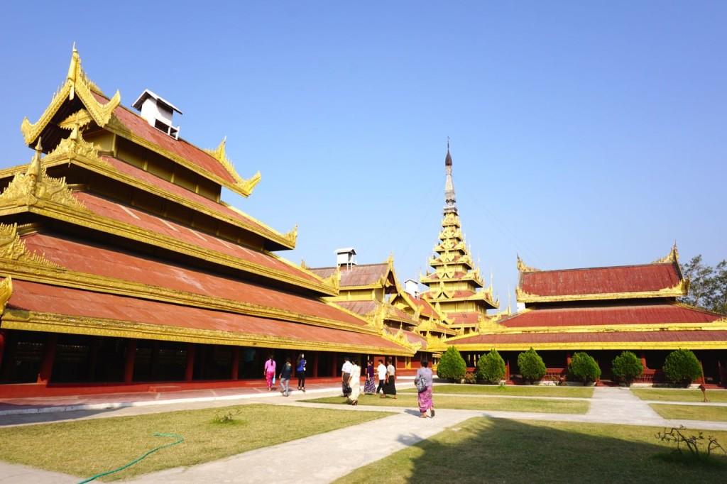 Mandalay Royal Palace, Mandalay, Myanmar (T Mendoza)