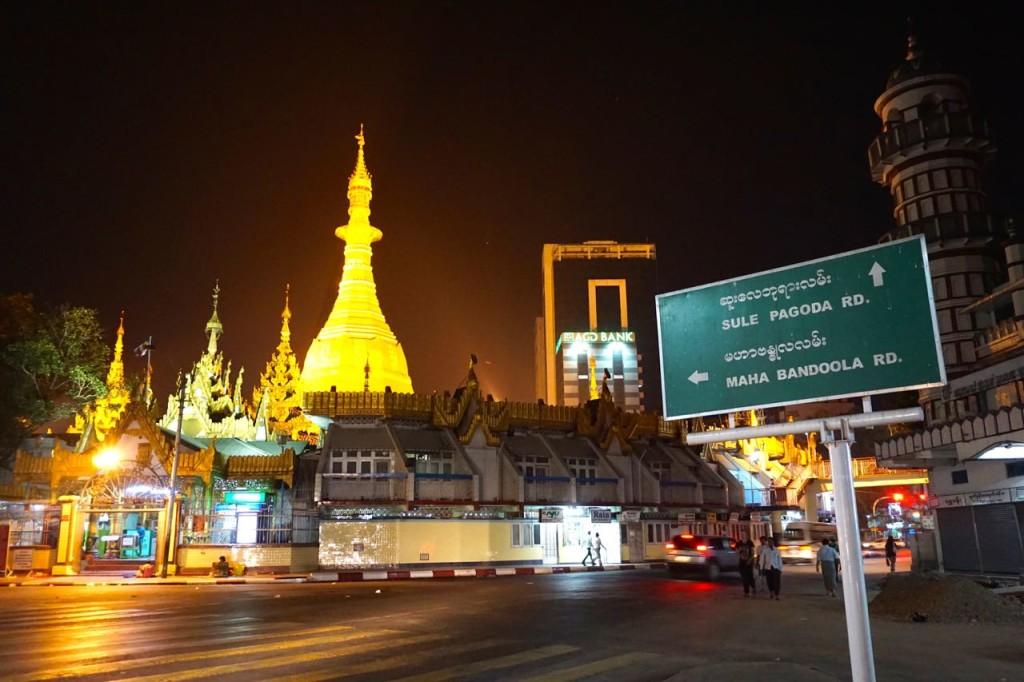 Sule Pagoda, Yangon, Myanmar (T Mendoza)