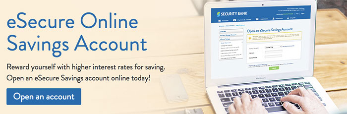 eSecure Savings (eSS) account from Security Bank