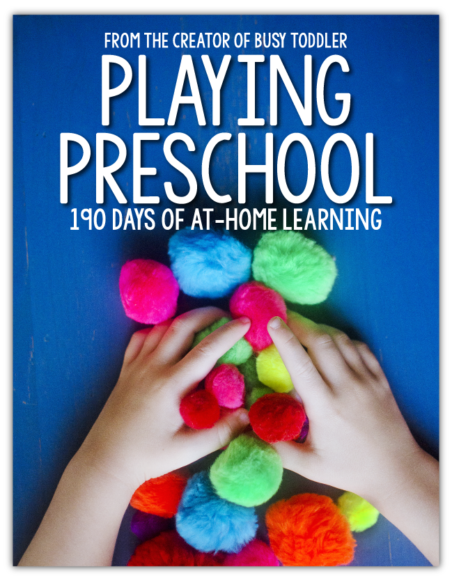Playing Preschool by Busy Toddler